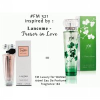 Parfum FM 321 Inspired By Lancome Tresor in Love