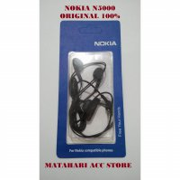 HANDSFREE NOKIA N5000 / N95 / E63 EARPHONE/ HEADSET ORI