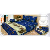 Sprei Lady Rose Disperse Uk.120 x 200 Motif Indigo
