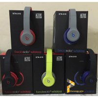 (Kirim Sore Ini) Monster Beats Studio Headphone Bluetooth Headset Stn-019 STN 19 STN019
