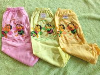 6 PCS Celana Panjang Bayi New Born Warna