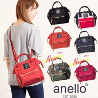 Termurah! JAPAN ANELLO BOSTON 2 WAY BAG MINI ORI