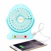 VIVAN ROBOT RT BF05 POWERBANK 2000Mah Rotatable Fan Kipas