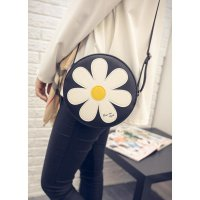 Termurah! TAS PUNDAK KASUAL MOTIF BUNGA / CASUAL SUNFLOWERS SHOULDER BAG BTA022