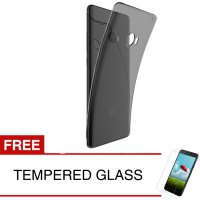 Case for Xiaomi Mi Note 2 - 5.7' - Abu-abu + Gratis Tempered Glass - Ultra Thin Soft Case