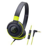 [Best Seller] Audio Technica Portable Headphone ATH-S100iS BGR (EX) - Black Green