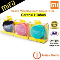L.I.M.I.T.E.D Xiaomi MiFa F30 Bluetooth Portable Speaker with Micro Sd Slot Original