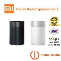 MURAH Xiaomi Round Speaker Bluetooth Version 2 - Hitam & Putih