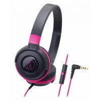 (Limited) Audio Technica ATH-S100iS BPK ( EX ) BLACK / PINK