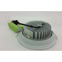 (High Quality) Lampu Ceiling Downlight LED COB 10 watt Adjustable ( Cahaya Putih )