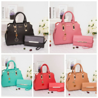 Termurah! TAS IMPORT FASHION KOREA 2IN1 CK CNK CHARLES AND KEITH BRANDED BATAM