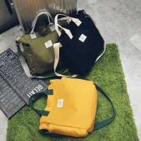 Termurah! JAPANESE FASHION SOLID COLOR SHOULDER BAG / TAS SELEMPANG WARNA SOLID