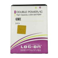 Log On Battery Baterai Double Power Evercoss A65 / ONE X - 3400mah