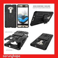 Asus Zenfone 3 Deluxe ZS570KL Heavy Duty Rugged Armor Stand Case Casing Cover