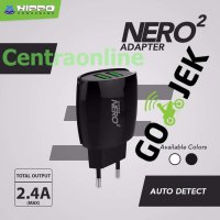 Hippo Adaptor Charger Nero 2 USB Port Simple Pack Samsung Xiaomi Oppo