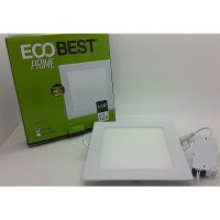 Model KOTAK Eco best prime 12w cahaya putih LED Panel Light downlight