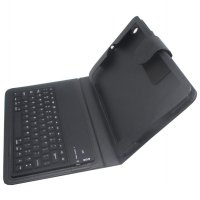 Bluetooth 3.0 Keyboard with Leather Case for iPad Mini/Mini 2 Retina