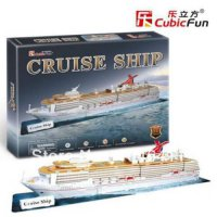 [globalbuy] Cruise Ship CubicFun 3D educational puzzle Paper & EPS Model Papercraft Home A/2155358