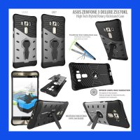 Asus Zenfone 3 Deluxe ZS570KL High Tech Hybrid Rotary Kickstand Case Casing Cover