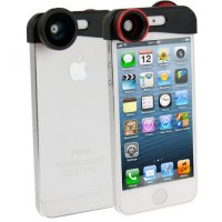 Fisheye Wide Angle Lens 180 | Wide and Macro Lens for iPhone 5/5s/SE