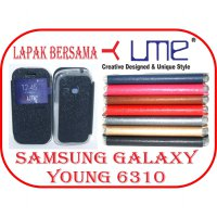 Flipshell / Flipcover / Flip cover / Sarung Ume Samsung Galaxy Young 2 Original Classic Series