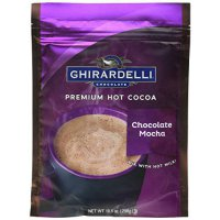 [poledit] Ghirardelli Hot Cocoa Chocolate Mocha, 10.5 Ounce Pouch -- 6 per case. (T2)/12150904