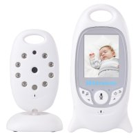 Kamera Pengawas, Camera CCTV 2.4ghz 2.0' Wireless Remote Digital Lcd Video Baby Monitor -AH006