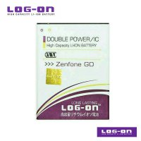 LOG-ON Battery For ASUS Zenfone Go 5' - Double Power & IC Battery - Garansi 6 Bulan