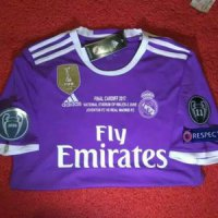 BEST JERSEY REAL MADRID AWAY FINAL CARDIFF 2017 GRADE ORI