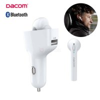 (Premium) Dacom GF7 2 in 1 Car Kit usb charger and Bluetooth V4.2 Headset Dock