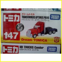 Dream Tomica Transformers Optimus Prime Takara Tomy Original
