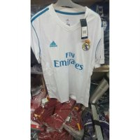 (Gold Product) JERSEY REAL MADRID HOME 2017/2018 GRADE ORI OFFICIAL