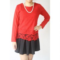 LACE LONG SLEEVED