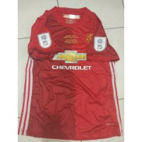 JERSEY MANCHESTER UNITED FINAL EFL FULLPATCH DAN MDT 2016/2017