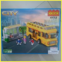 LEGO COGO Bis Kota (City Bus) with figures
