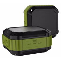 Aukey Mini Outdoor Waterproof Stereo Bluetooth Speaker - SK-M16 - Green