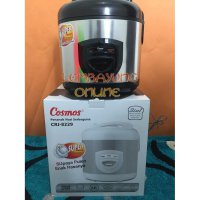 COSMOS CRJ-8229-BSS MagicCom / Rice Cooker Stainless Steel