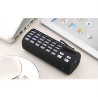 Outdoor Portable Bluetooth Speaker with TF Card Slot and NFC - KD-57 - Black