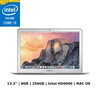 Apple Macbook Air MMGG2 Notebook - Silver [256GB/ 8GB/ Intel Core i5/Mac OS/ 13.3 Inch]