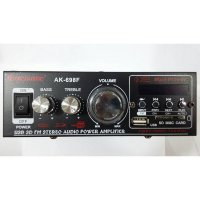 Acoustic AK-698F USB SD Stereo Audio Power Amplifier AC DC - FM Radio