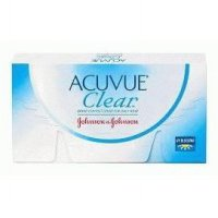 Softlens / contact lens ACUVUE CLEAR by Johnson & Johnson (1 box = 3 pasang)