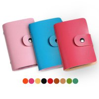 [FREE ONGKIR] Men Women Leather Credit Card Holder Case Card Holder Wallet Business Card