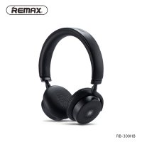 Remax Bluetooth Headphone with Touch Control - RB-300HB - Black