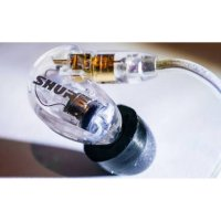 (Star Product) SHURE SE 215 SOUND ISOLATING EARPHONE - CLEAR
