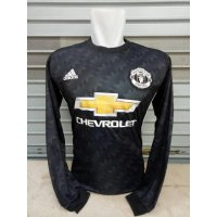 [Limited Offer] Jersey Baju Bola MU Manchester United Away LS Longsleeve 17/18 Adidas
