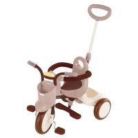 Sepeda Anak Tricycle IIMO Comfort Brown 01 Roda Tiga Japan Original