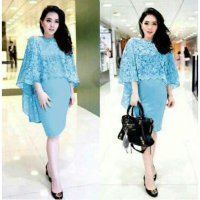 Dress Renren Brukat 1185R