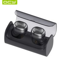 QCY Q29 Airpods Earphone Bluetooth dengan Charging Case - Black
