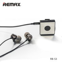 Remax Bluetooth Clip-On Receiver - RB-S3 - Black