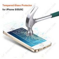 Anti Gores Kaca Tempered Glass Iphone 5 Iphone5 5S 5C 5G Clear Bening High Quality